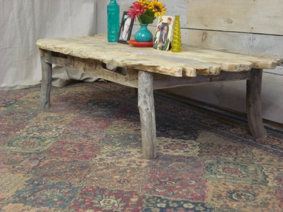 Driftwood Coffee Table Rustic Coffee Table 60 X 30 X 12 17 H