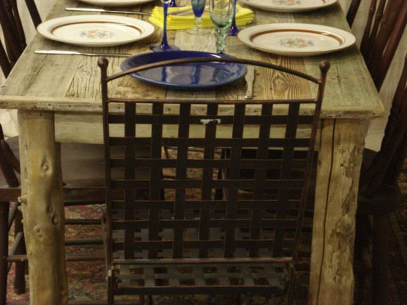 54 x 20 x 29 or 36H Driftwood table Custom request, new pictures soon, table pictured is 30 wide