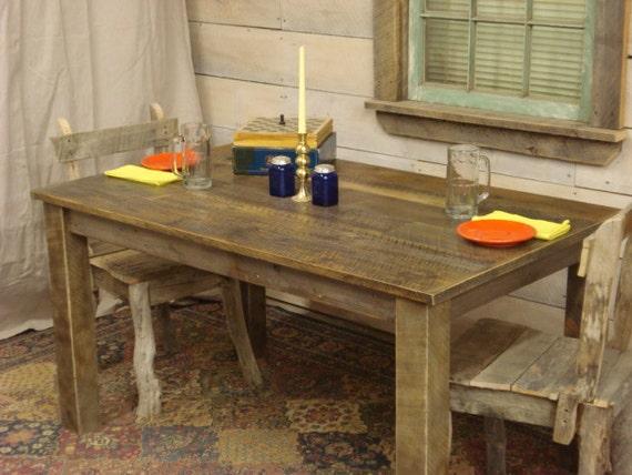 Farmhouse table, Rustic Farmhouse Dining room Table 54\