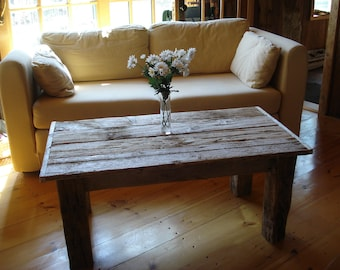 "Driftwood Coffee Table (42"" x 22"" x 16-20"" H)"