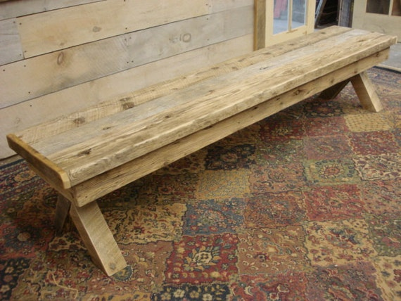 Superb Driftwood Bench With Back 108 X 16 X 17 Or 23H With Trestle X Style Legs Custom Request New Pictures Soon Pictured Is 80 Long Squirreltailoven Fun Painted Chair Ideas Images Squirreltailovenorg