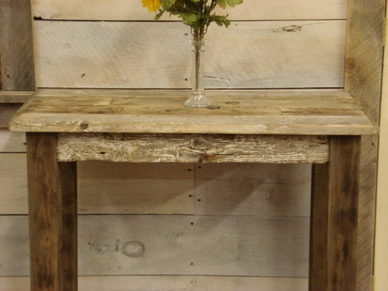 Driftwood Sofa Table (36\