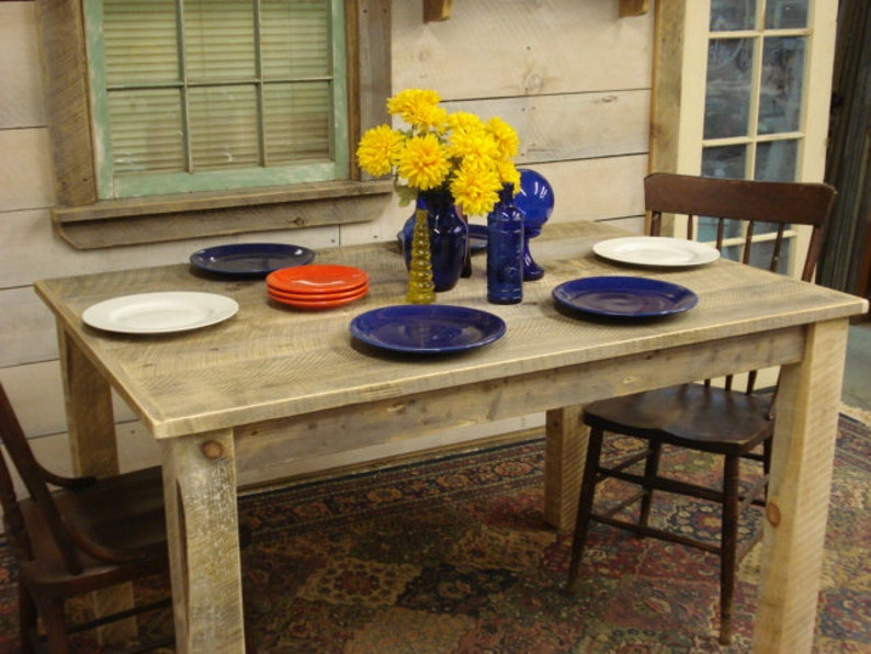 Rustic Dining Room Table 54 X36 X 30H