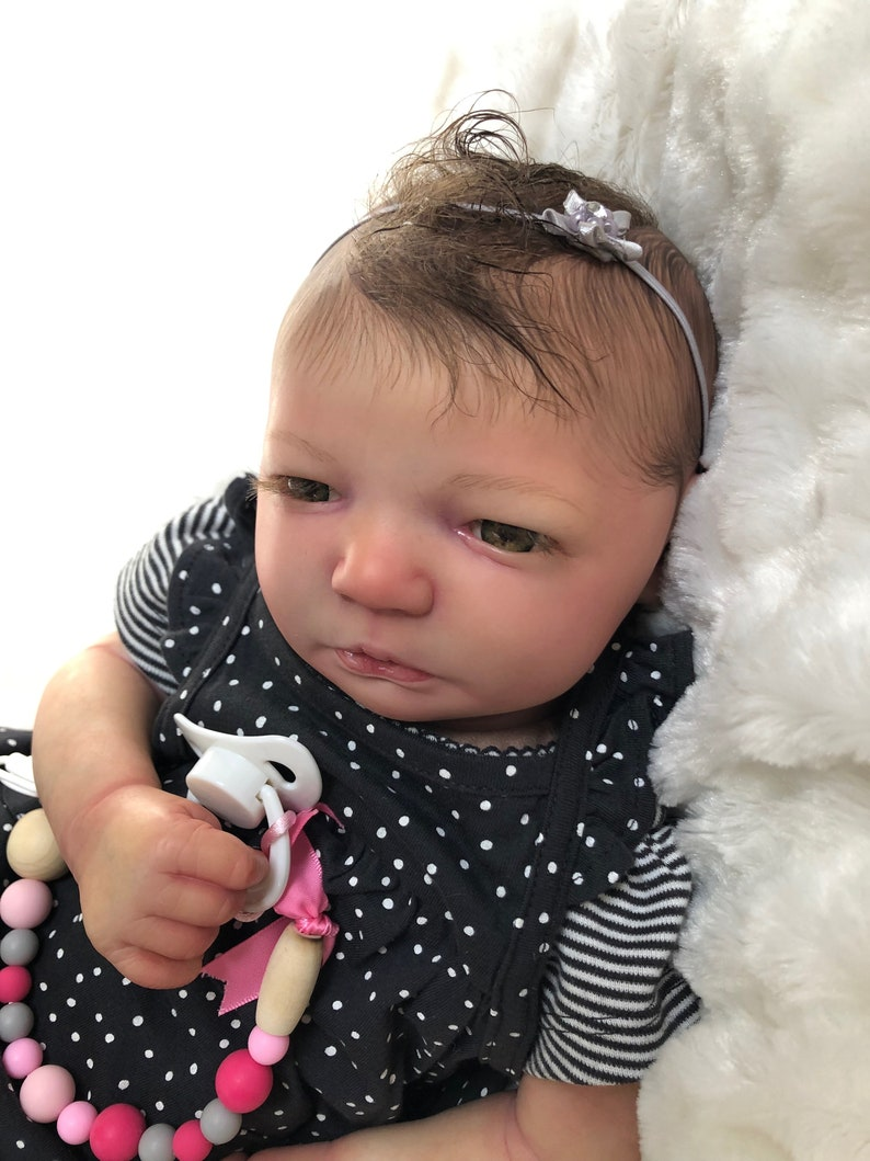 Turnip Ready for adoption Reborn Jenny awake