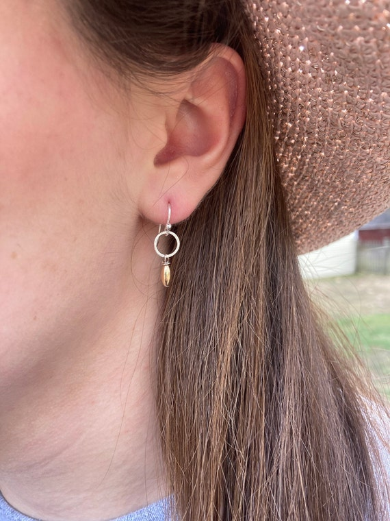 Sterling Gold Filled Petite Earrings