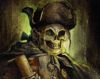 Pirate Ghost, Fine Art Print, (The Ghost of Billy Bones)
