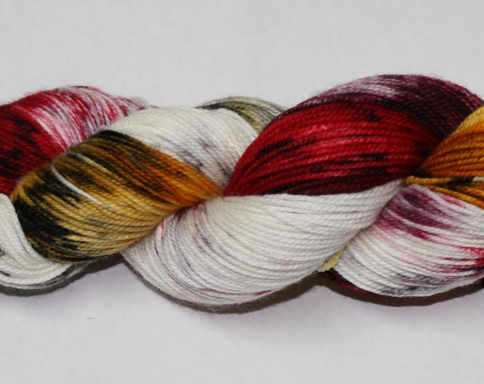 Ready to Ship - Platform 9 3/4 Hand Dyed Sock Yarn - Tough Sock
