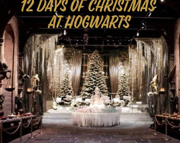 12 Days of Christmas at Hogwarts Advent