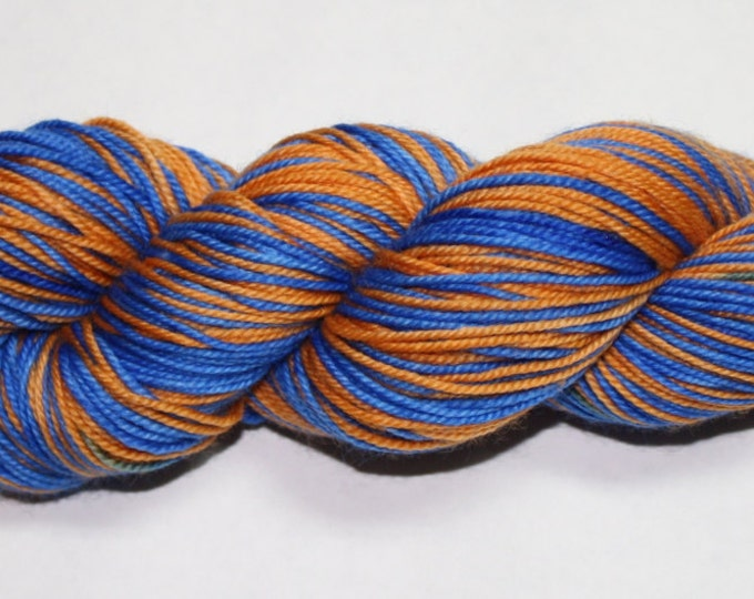 Ravenclaw Self Striping Hand Dyed Sock Yarn