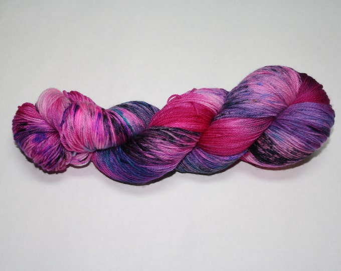 Hot Mess Express Hand Dyed Sock Yarn