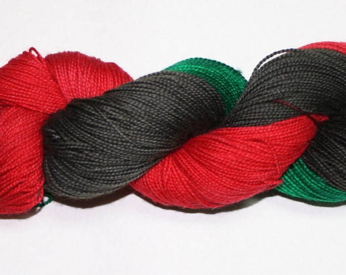 Clara Oswald Hand Dyed Sock Yarn