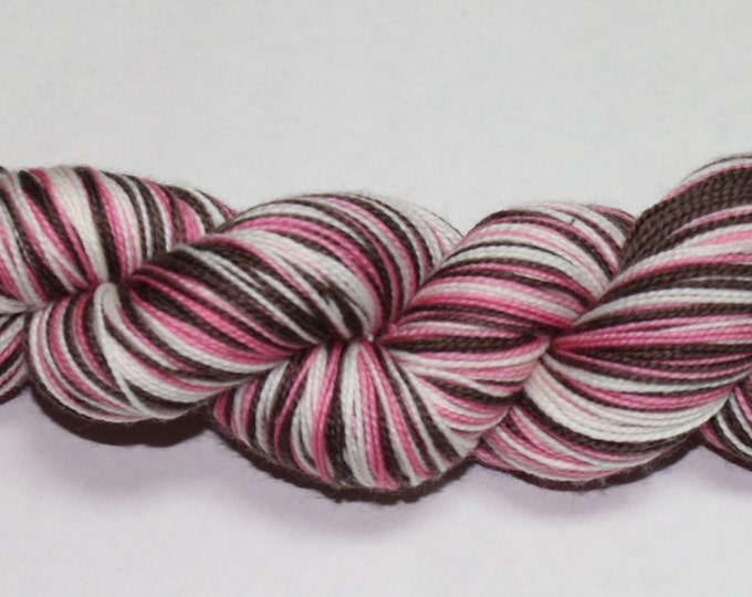 Ready to Ship - Neapolitan Self Striping Hand Dyed Sock Yarn - Tough Sock 50 gram