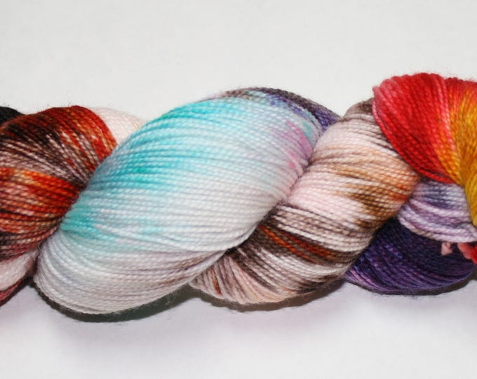 Into The Diary Hand Dyed Sock Yarn
