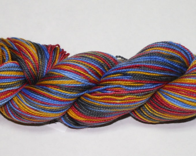 Trekkie Self Striping Hand Dyed Sock Yarn