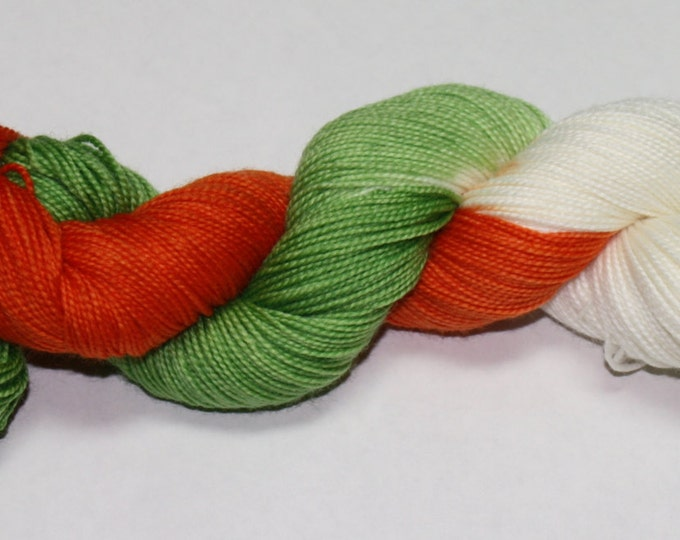 Irish Quiddich Team Hand Dyed Yarn