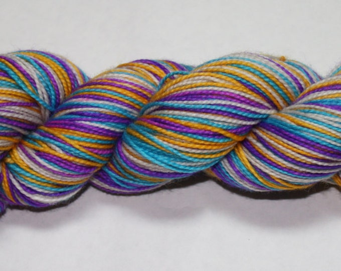 Wanderer Self Striping Hand Dyed Sock Yarn