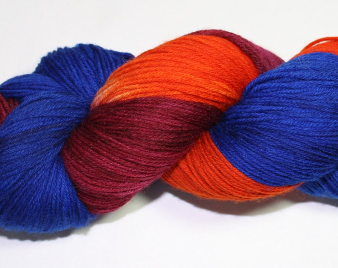 Michigan Dusk Hand Dyed Sock Yarn