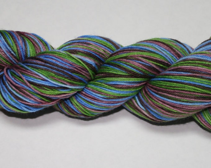 Ready to Ship - Outlander Self Striping Hand Dyed Sock Yarn - Tough Sock 50 gram