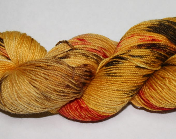 Dragonfly In Amber Hand Dyed Yarn
