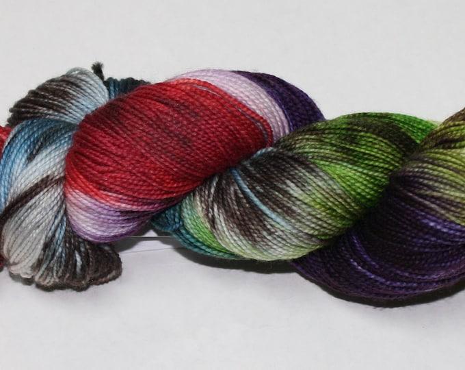 Diagon Alley Hand Dyed Sock Yarn