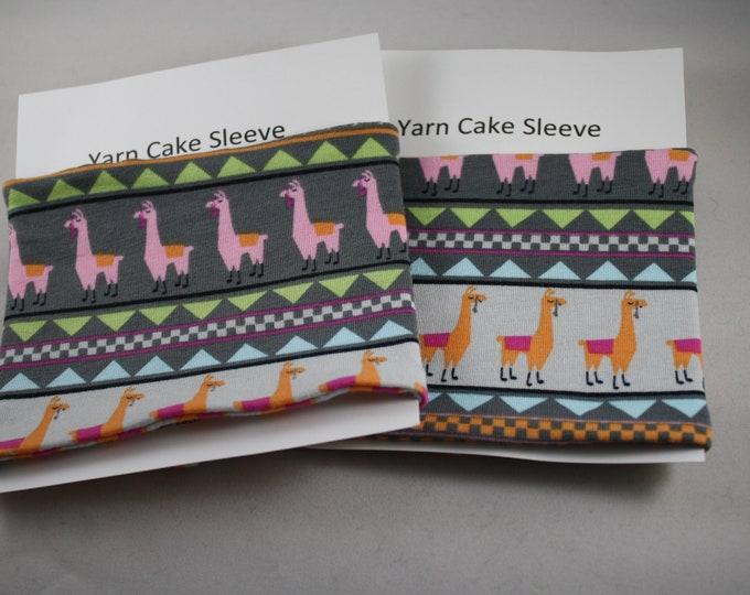 Llama Yarn Cake Sleeve