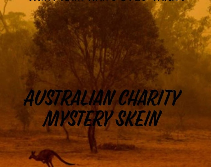 Australian Charity Mystery Hand Dyed Yarn