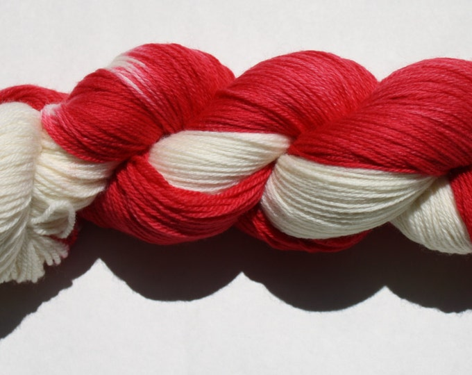 Red Wings Hand Dyed Sock Yarn
