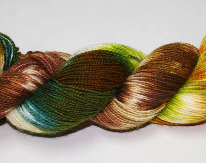 Hagrid's Hut Hand Dyed Sock Yarn