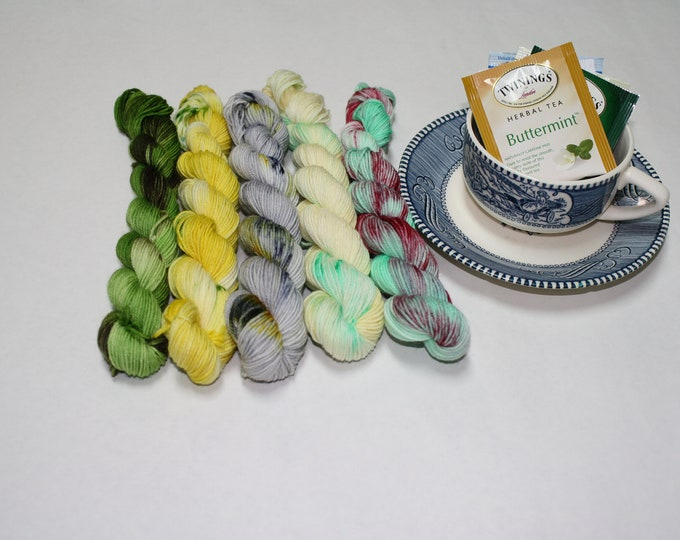 Yarn and Tea Set