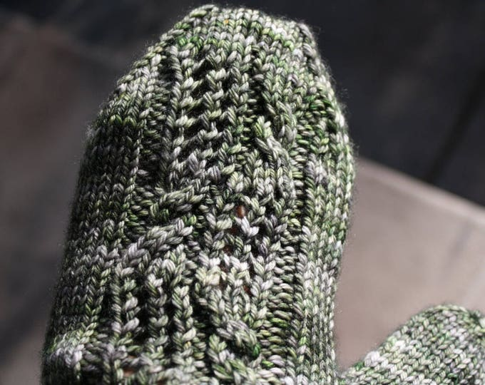 Through the Standing Stones Mitten Pattern