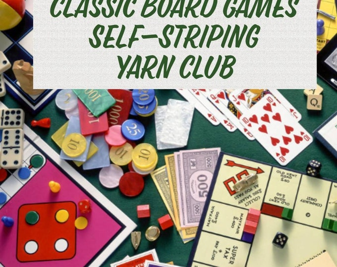 Classic Literature Self - Striping Yarn Club - 1 Month February