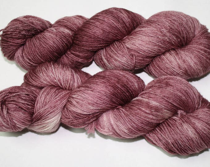 Ready to Ship - Claire's Hunting Capelet Hand Dyed Sock Yarn - Tweed Sock