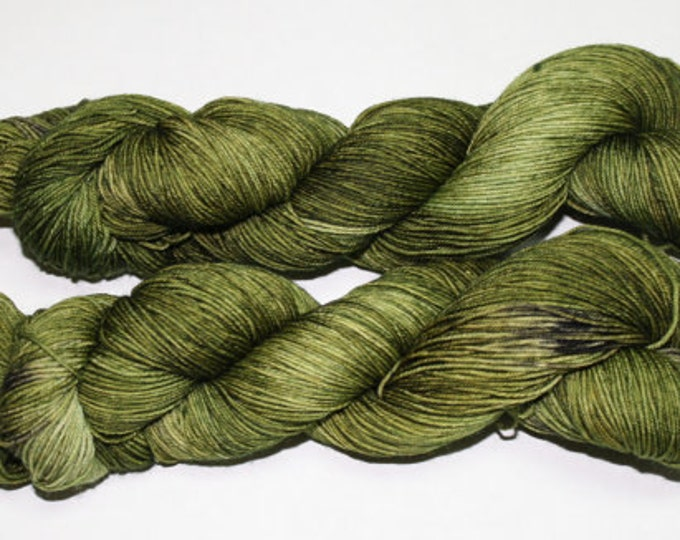 Ready to Ship - Mossy Grove Hand Dyed Yarn - Superwash Worsted