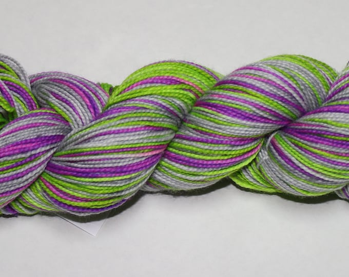 Witch's Boos Self Striping Hand Dyed Sock Yarn