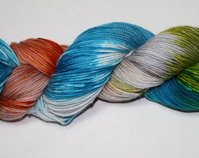 Rebellions Are Built On Hope Hand Dyed Sock Yarn