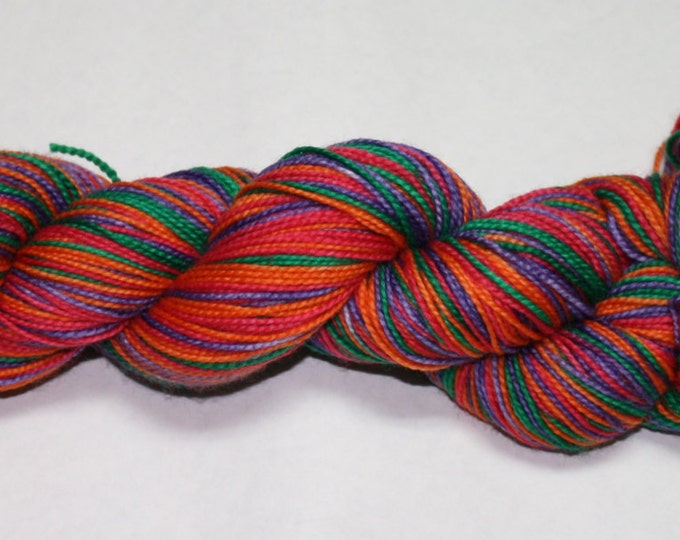 Sanderson Sisters Self Striping Hand Dyed Sock Yarn