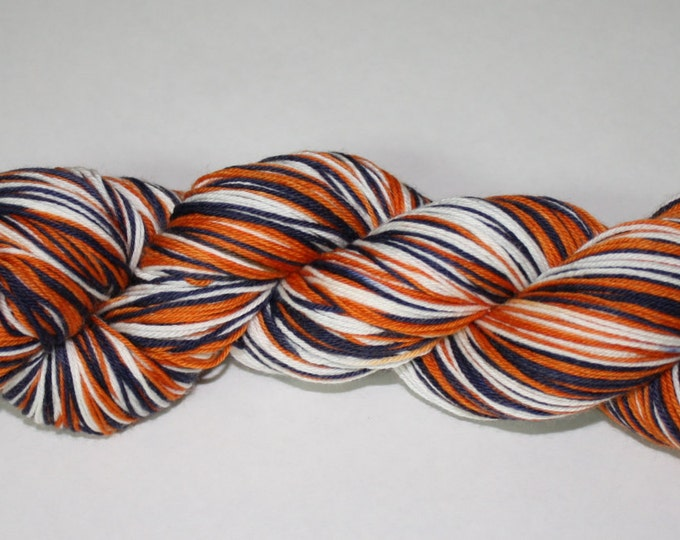 Tigers Self - Striping Hand Dyed Sock Yarn