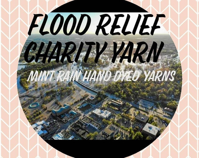 Midland Flood Relief Charity Mystery Hand Dyed Yarn