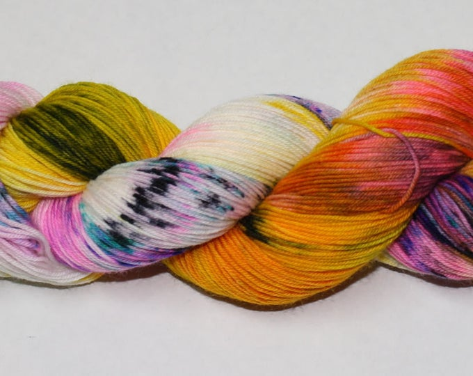 Ready to Ship - Daydreamer Hand Dyed Sock Yarn - Superwash Worsted