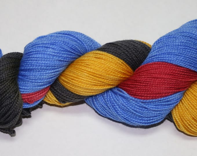 Trekkie Hand Dyed Sock Yarn