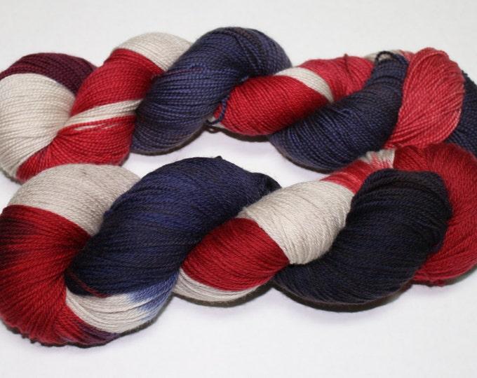 Americana Hand Dyed Sock Yarn