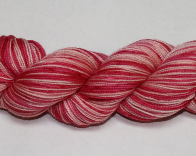 Champagne and Strawberries Self Striping Sock Yarn
