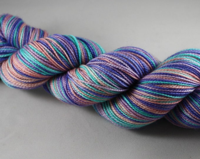 Occamy Self Striping Hand Dyed Sock Yarn