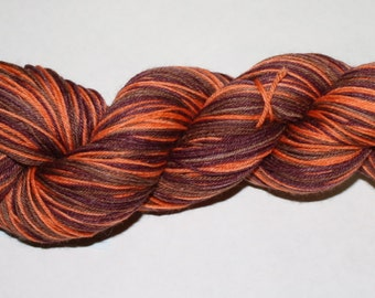 Autumn on my Goldie Base Combine this yarn with a Skein of my  pumpkin spice or pumpkin