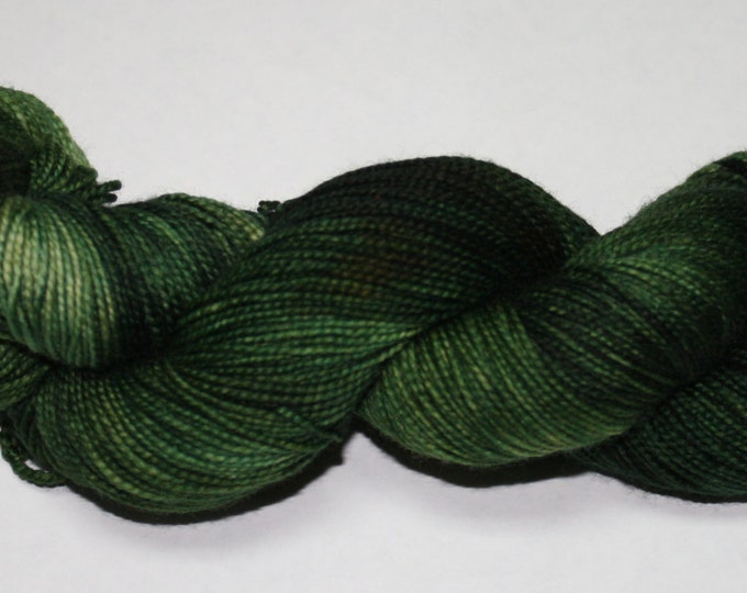 Ready to Ship - Dragon Hand Dyed Sock Yarn - Twist Sock