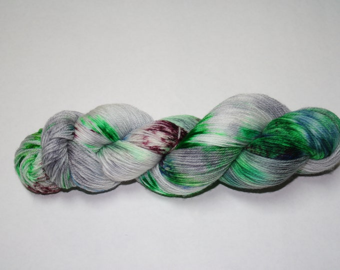 Ready to Ship - Grudgingly Adulting Hand Dyed Sock Yarn - Sport Sock