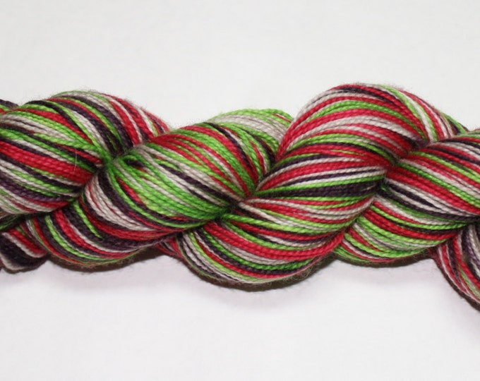 Farmer's Market Self Striping Hand Dyed Sock Yarn
