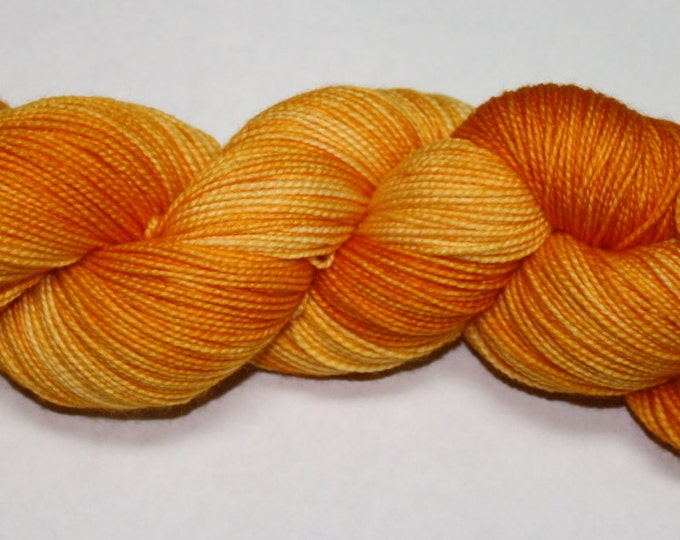 Ready to Ship - Squash Hand Dyed Sock Yarn - Twist Sock