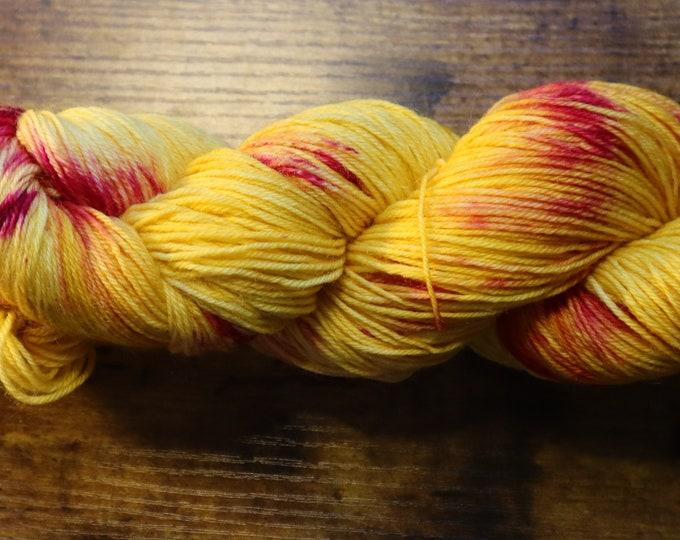 Ready to Ship - Honey Bush Hand Dyed Sock Yarn