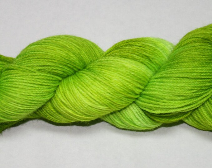 Ready to Ship - Ghoul Hand Dyed Sock Yarn - Tweed Sock